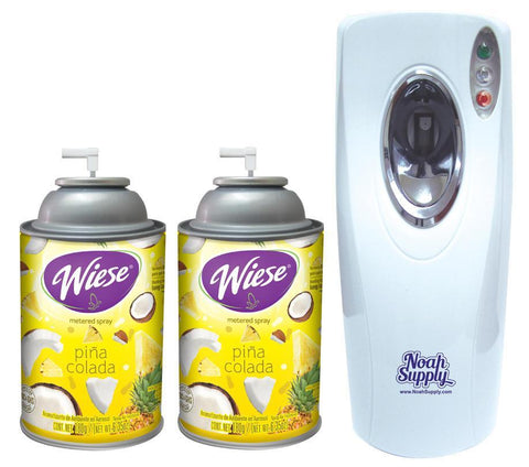 Automatic Spray Air Freshener Kit ( 2 refills) with (1) Dispenser - Pina Colada, Wiese