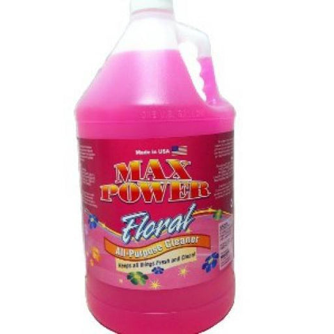 Max Power Floral Cleaner & Deodorizer, Box  of 4 gals