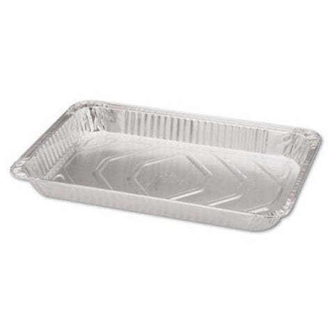 "Steam Table Aluminum Pan, Full-Size, 228-oz, 2.5"" deep, Box of 50"