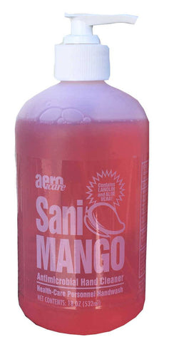 Sani Mango Antimicrobial Hand Cleaner, 18oz bottle