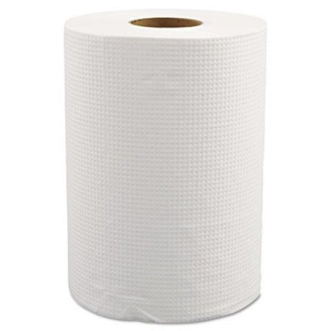 Select Choice Roll Towels, White , Box of 12