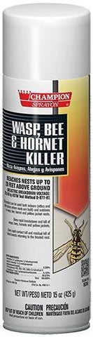 Wasp, Bee & Hornet Killer, Champion Sprayon 15 oz Can, Pack of 12