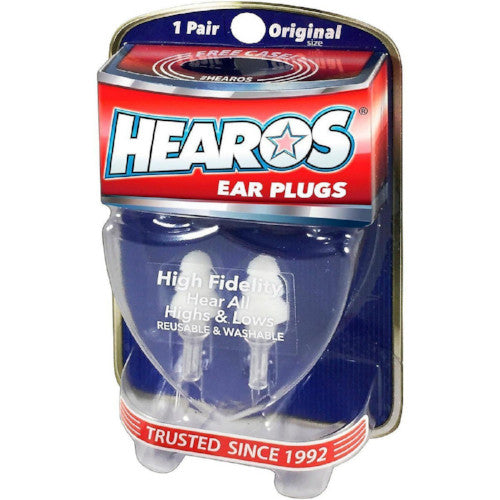 HEAROS High Fidelity (Musician's) Ear Plugs - HEAROS