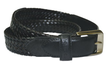 'Harry' Leather Braided Belt