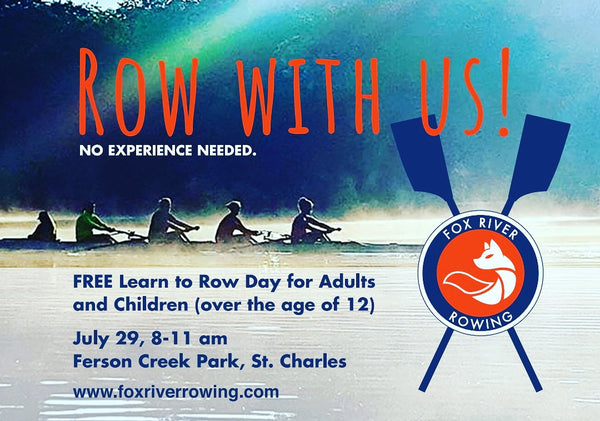 Free Learn to Row Day!        ** POSTPONED DUE TO FLOOD**