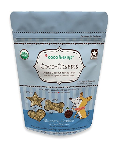 Coco-Charms Organic Dog Training Treats