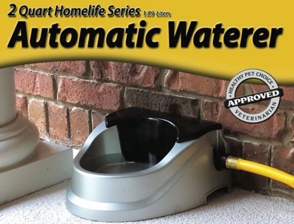 Aqua Buddy Automatic Waterer - No Overflow and Made in USA