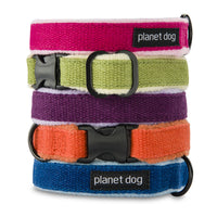 Eco-Friendly 100% Hemp Adjustable Dog Collar