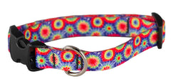 Ecoweave Tie-Dye Collar for Small Dogs