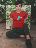 Rainbow Pooper Dog Unisex T-Shirt