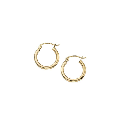Classic Gold Hoop Earrings