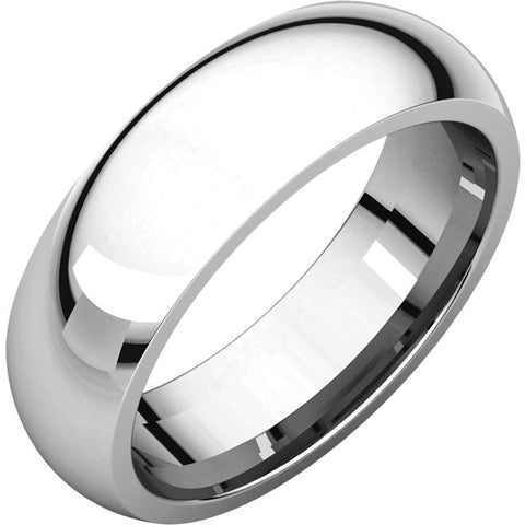 Classic 6mm Wedding Band