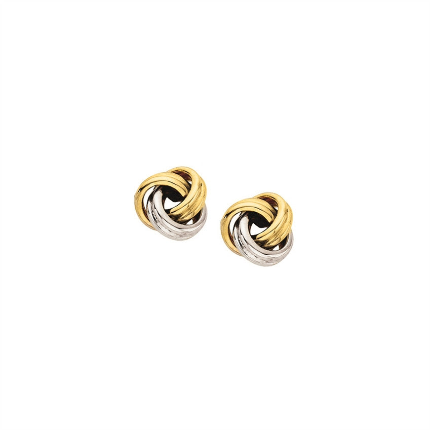 Gold Lover's Knot Earrings