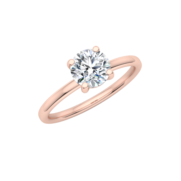 Petite Comfort Fit Solitaire Engagement Ring