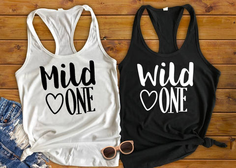 Best Friend Shirts, Mild One Wild One - Custom Lifestyle Designs