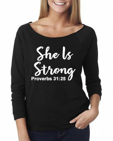 She is Strong Shirt - Custom Lifestyle Designs