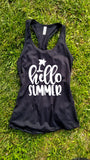 Hello Summer Tank Top - Custom Lifestyle Designs