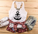 Jesus Is My Anchor Tank Top, Christian Shirt - Custom Lifestyle Designs