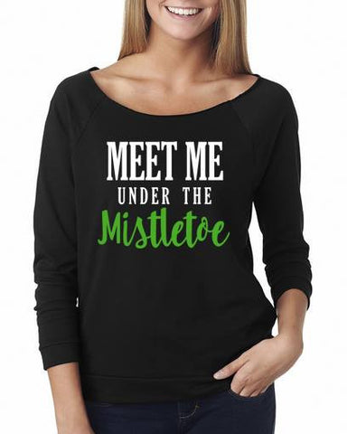 Meet me under the mistletoe - Custom Lifestyle Designs