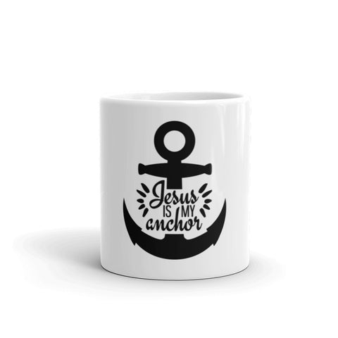 Jesus Is My Anchor Mug - Custom Lifestyle Designs
