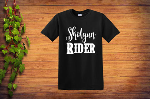 Shotgun Rider Unisex T Shirt - Custom Lifestyle Designs