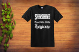 Sunshine Mixed With a Little Hurricane Unisex T Shirt - Custom Lifestyle Designs