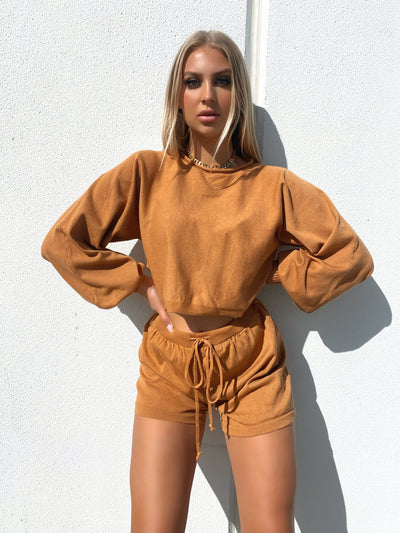 MINA TWO PIECE SET RUST
