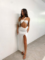SHENAYE TWO PIECE SET WHITE