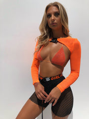 DUTY GEM BRA ORANGE - Generation Outcast Clothing