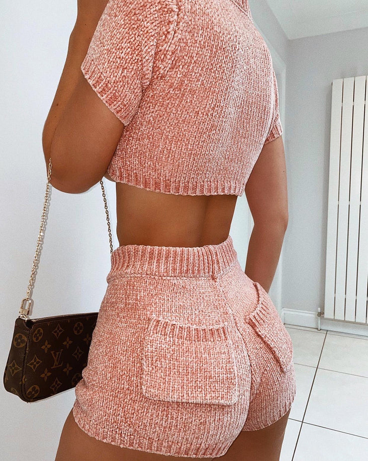 MISKA TWO PIECE SET BLUSH
