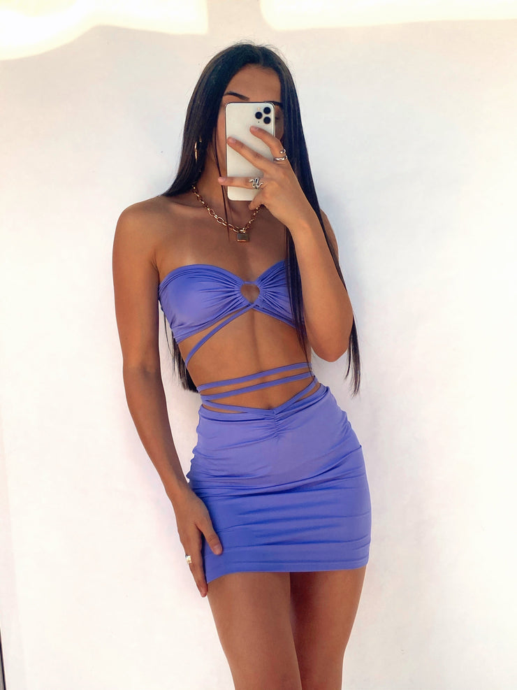 NOLA TWO PIECE SET PURPLE