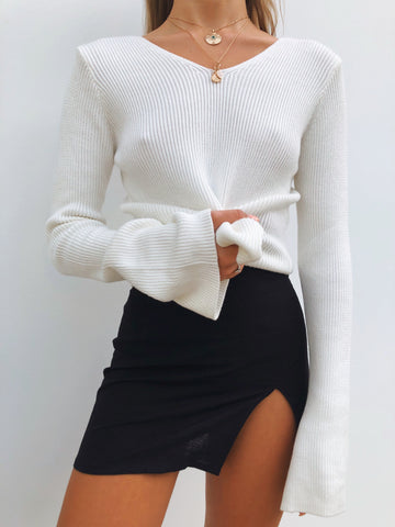 LANI CROP WHITE