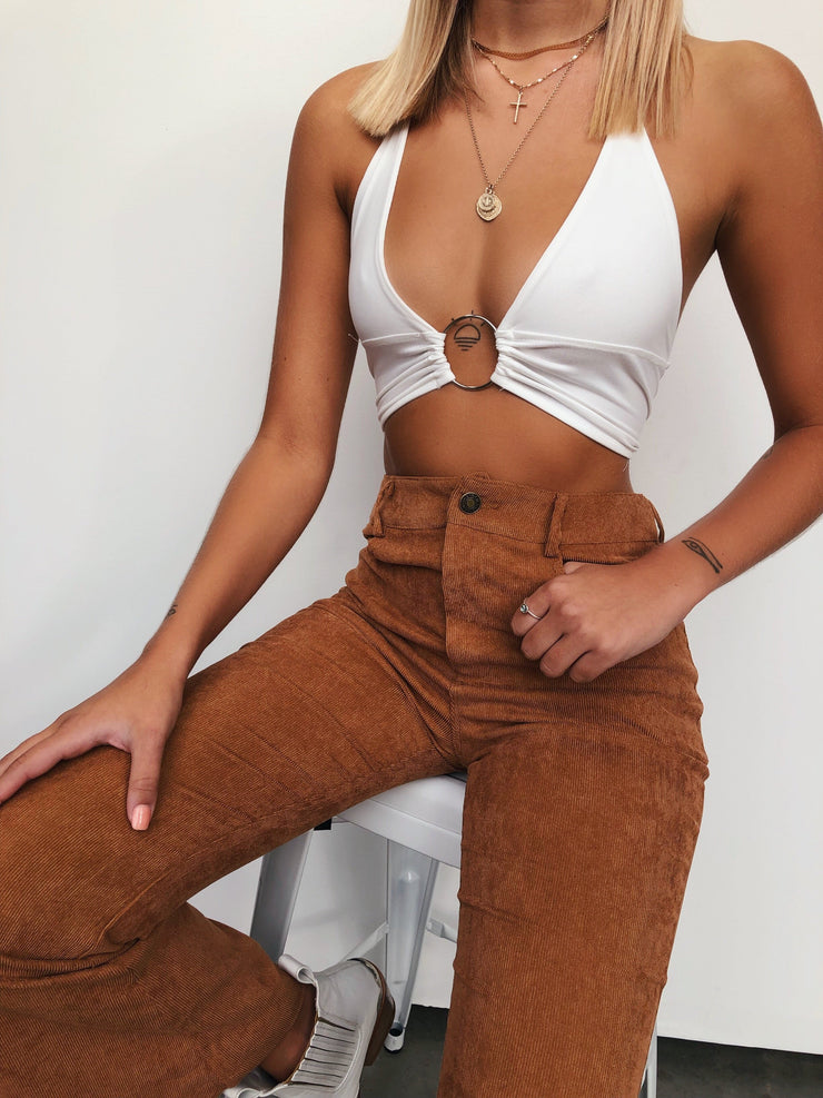 GEMINI FLARES TAN - Generation Outcast Clothing