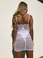DAYNA MESH DRESS - Generation Outcast Clothing