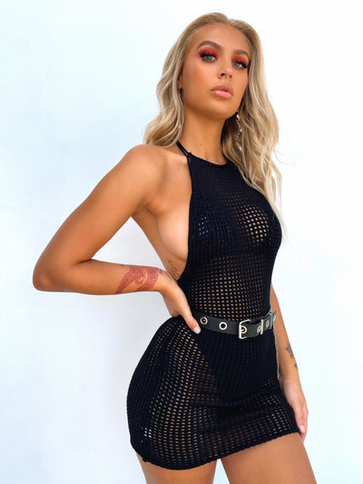 MIA MINI DRESS BLACK