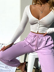 ADDIE TRACK PANTS LILAC