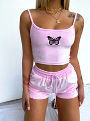 HIGH SPEED TWO PIECE SET PINK