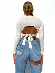ETTA CROP TOP WHITE
