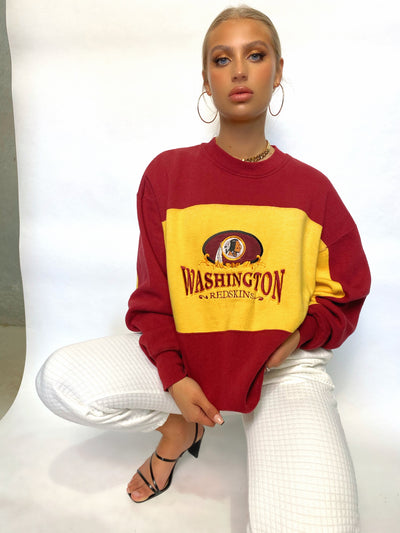 VINTAGE WASHINGTON REDSKINS SWEATSHIRT RARE