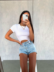 POLAR DENIM SHORTS