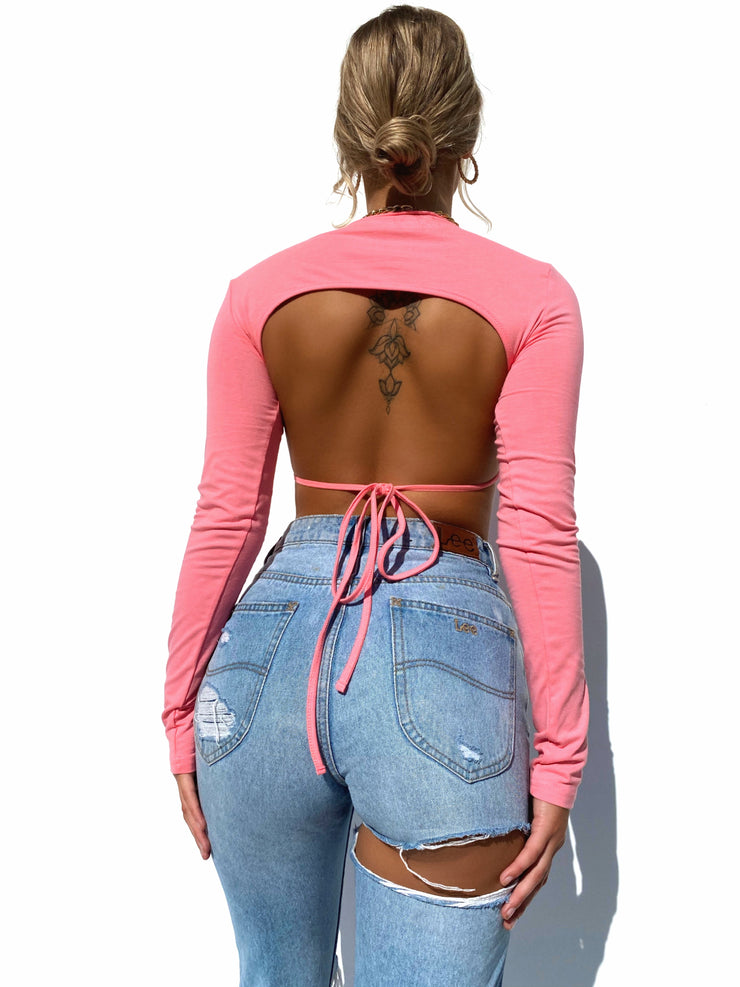 SPICE GIRL CROP PINK