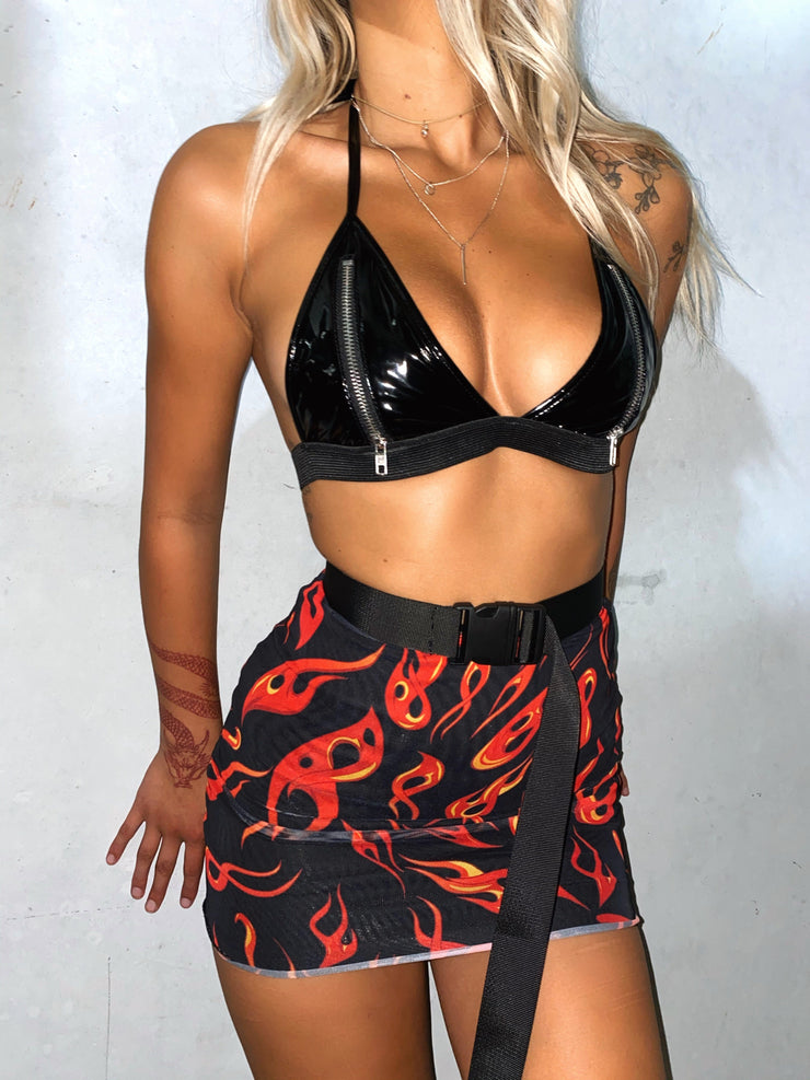 HEAT WAVE BRALETTE PRE ORDER - Generation Outcast Clothing