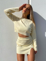 APOLLO KNIT CROP TOP