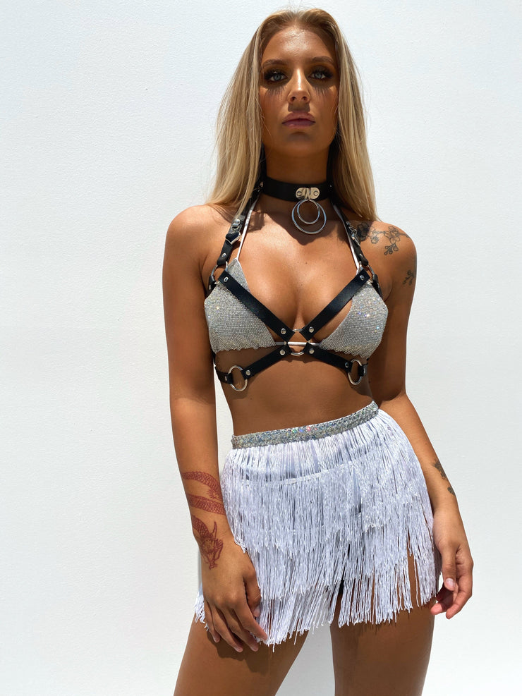 HAILEY HARNESS BLACK PRE ORDER - Generation Outcast Clothing