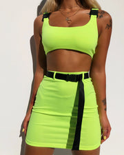RYDE BUCKLE TWO PIECE SET NEON - Generation Outcast Clothing