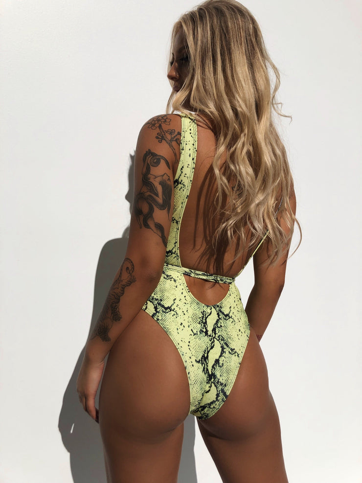 LET ME LOVE YOU BODYSUIT LIME PRE ORDER - Generation Outcast Clothing