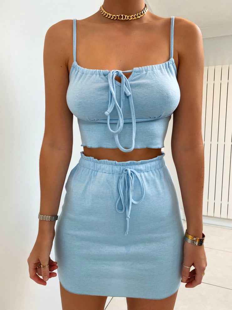 FAIR GAME TWO PIECE SET PASTEL