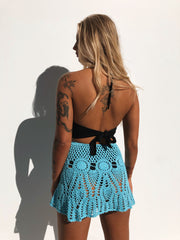 MOVE YOU SKIRT ELECTRIC BLUE PRE ORDER - Generation Outcast Clothing