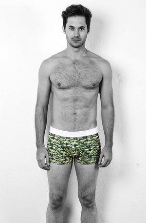 MR.U ARMY BOXER BRIEF VERDE - MRU.MX