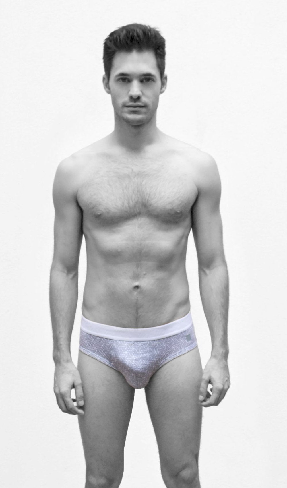 MR.U DANDY BRIEF GRIS - MRU.MX